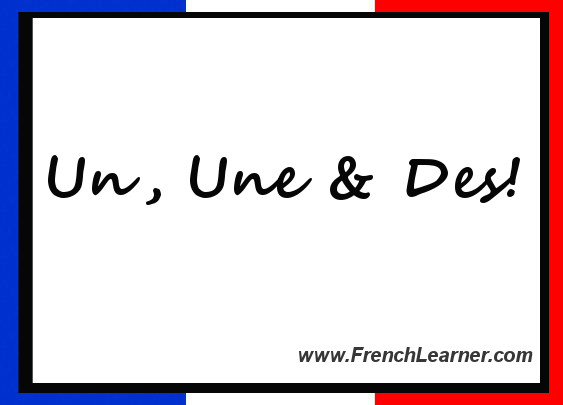French Indefinite Articles