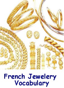 French Jewelery Vocabulary