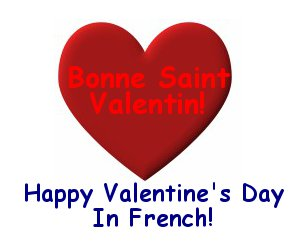 French Valentine's Day