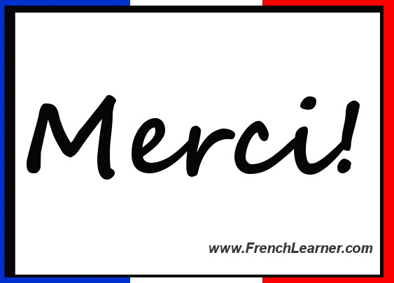 Thank you in french click for details thank you in french click for