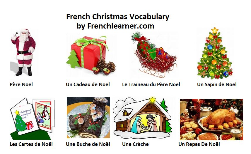 french christmas vocabulary. Black Bedroom Furniture Sets. Home Design Ideas