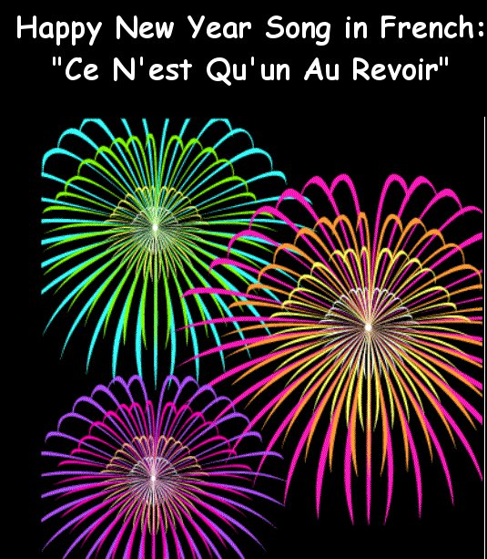 french new years song