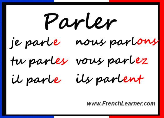 french regular er verbs