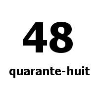 quarante-huit 48