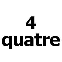 quatre -