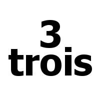 trois - 3