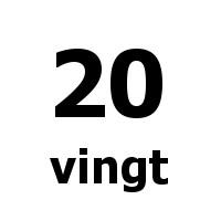 vingt 20