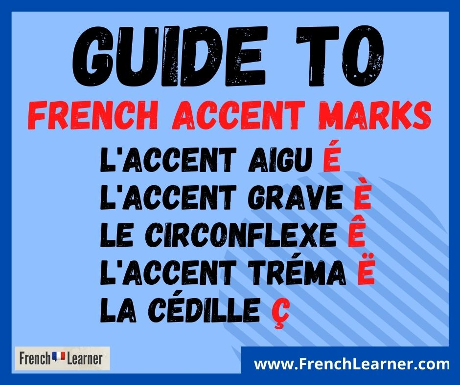 French accent marks