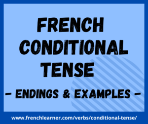 French conditional