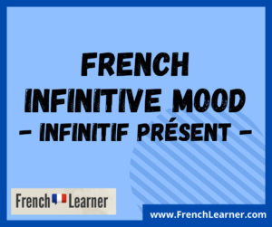 French infinitive mood