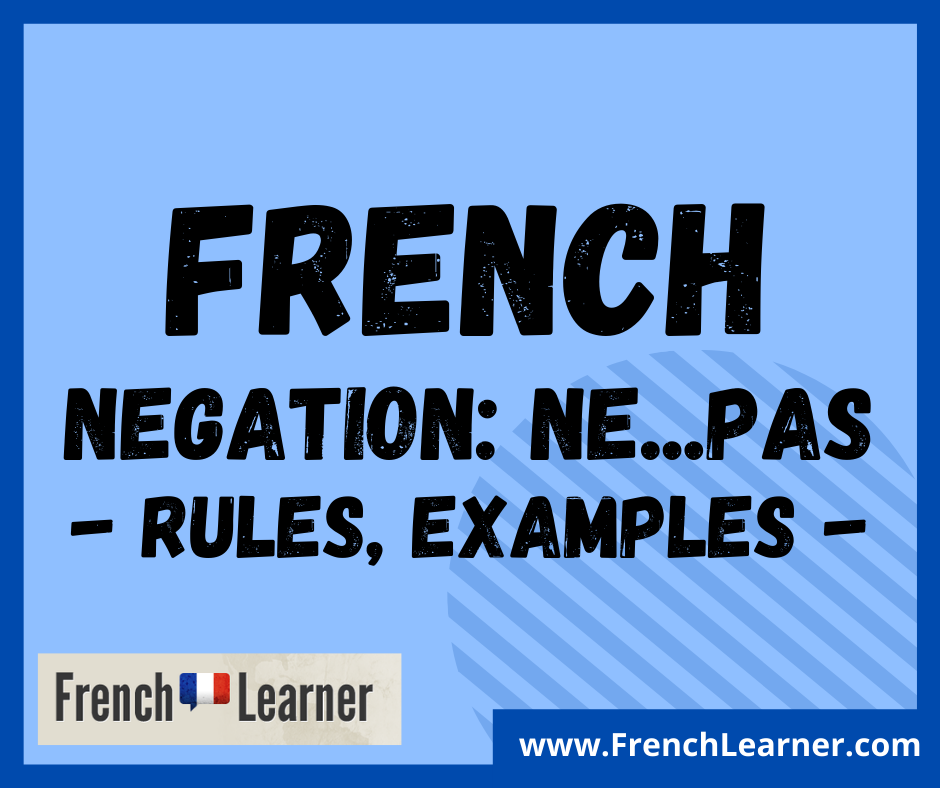 French negation rules